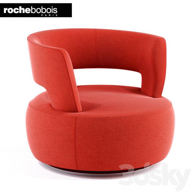 3d Models Arm Chair ATOLL SWIVEL ARMCHAIR