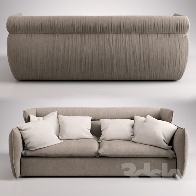 3d models: Sofa - Alf Da Frè OREGON