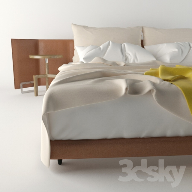 Miraculous 3D Models Bed Flexform Eden Sofabed Pdpeps Interior Chair Design Pdpepsorg