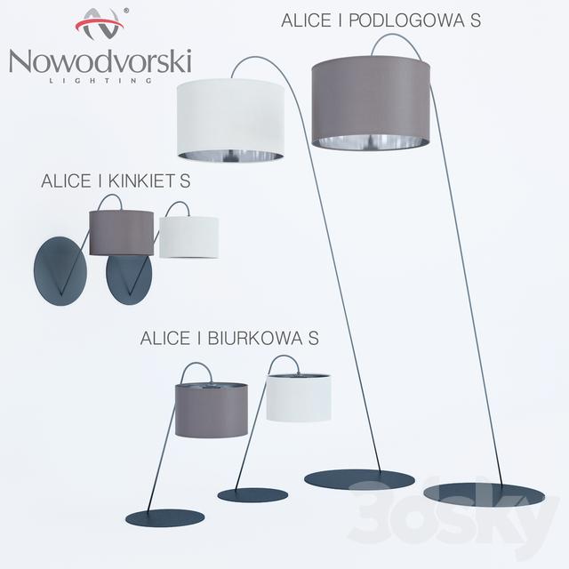 Nowodvorski podlogowa Floor lamp Table lamp Wall lamp kinkiet biurkowa