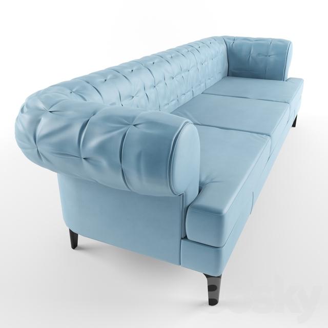3d models: Sofa - Poltrona Frau. Manto