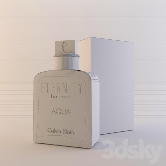 3d models bathroom accessories calvin klein eternity for Bathroom sets for men