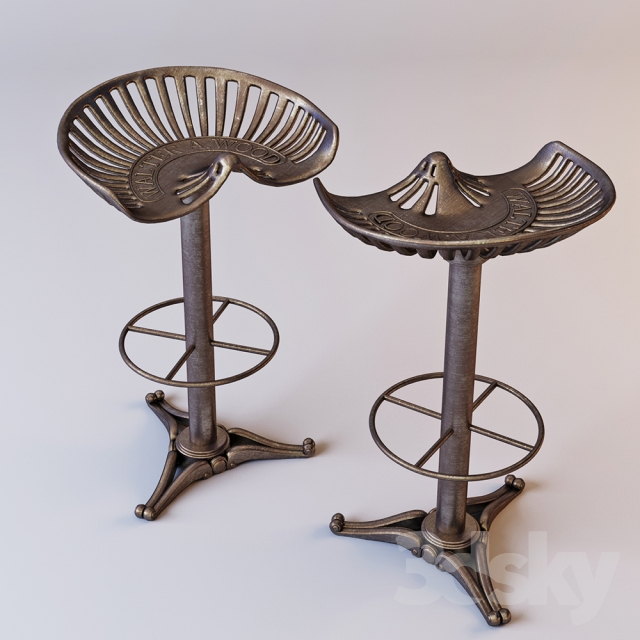 Cast Iron Bar Stool