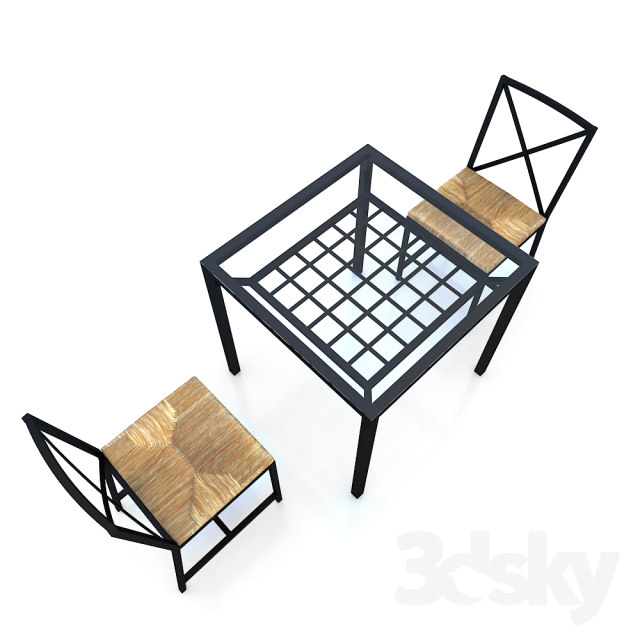 3d models  Table + Chair   IKEA GRANAS Table (Table GRANOS)