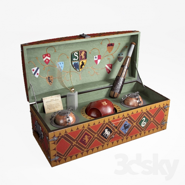 Quidditch game set