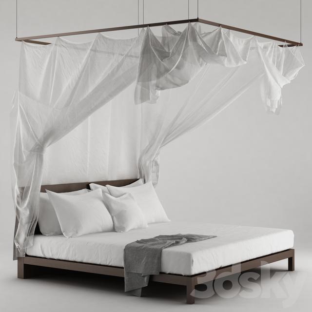 3d models: Bed - Bed Canopy