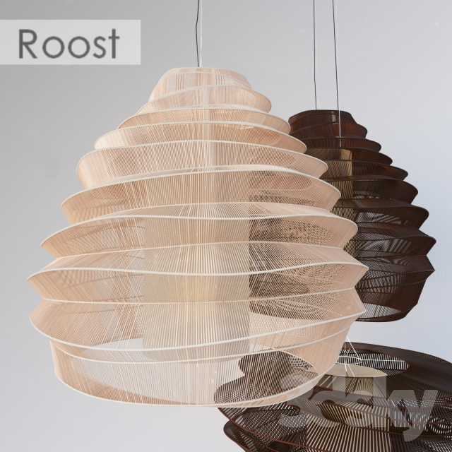 3d Models Ceiling Light The Bamboo Cloud Chandelier