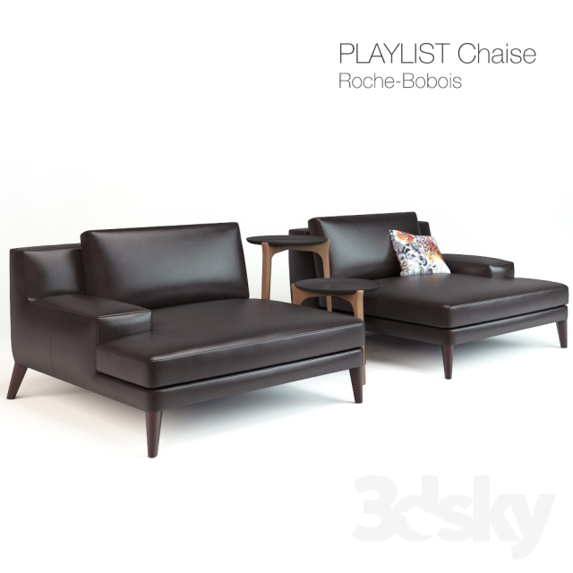 3d models: Arm chair - Playlist Chaise Roche-Bobois