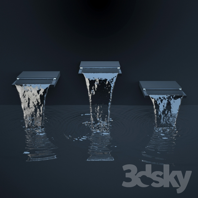 3d models: Other architectural elements - Pool Falls ...