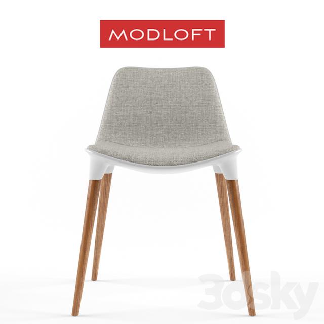 3d Models Chair Modloft Langham Dining Chair