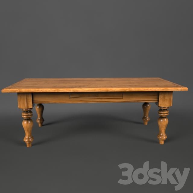 Cristo   Modern Farmhouse Coffee Table