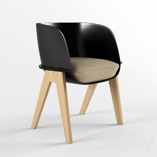 3d models Arm chair FAUTEUIL BRIDGE LUCIA