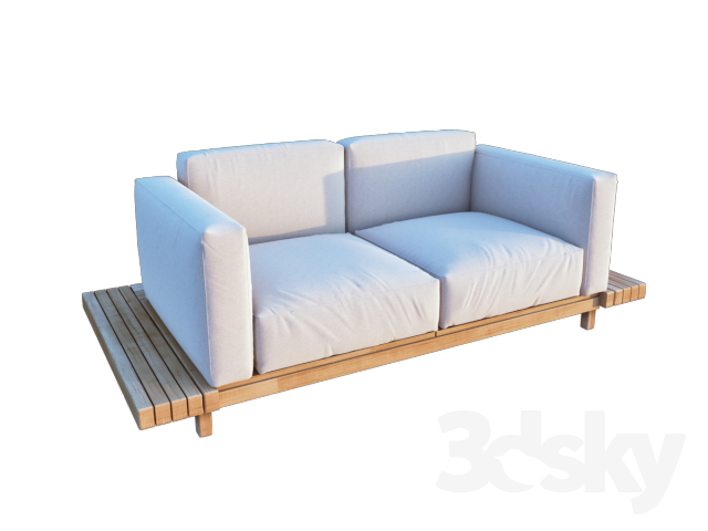 3d models sofa vis a vis sofa. Black Bedroom Furniture Sets. Home Design Ideas