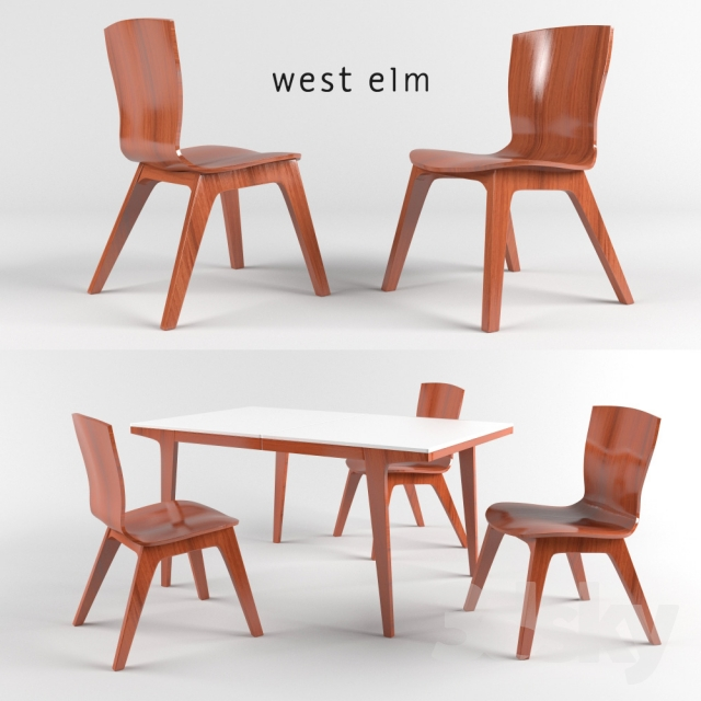 Good Crest Bentwood Chair And Dining Table