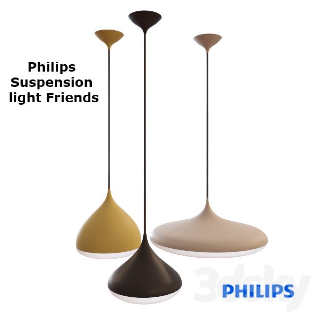 Ceiling lighting Philips Suspension light friends  sc 1 th 225 & 3d models: Ceiling light - Ceiling lighting Philips Suspension light ...