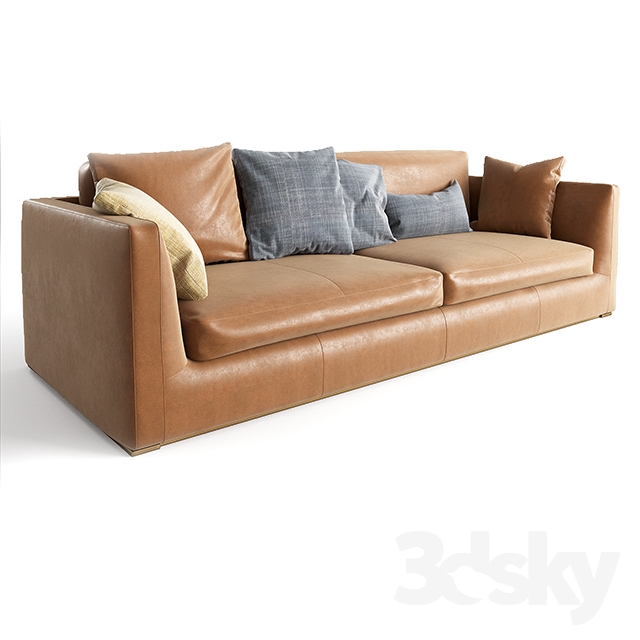 3d Models Sofa B B Italia Richard Sofa