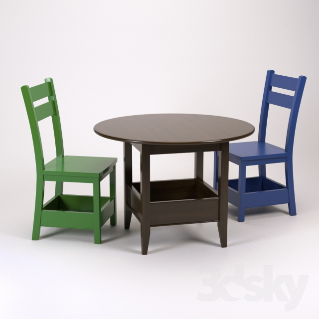 Bin Play Table & Porter Chair