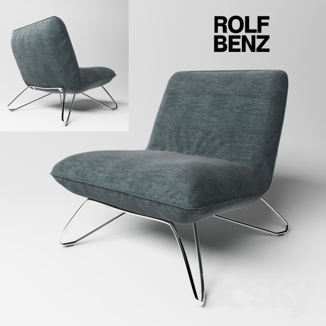 3d models arm chair chair rolf benz 394. Black Bedroom Furniture Sets. Home Design Ideas