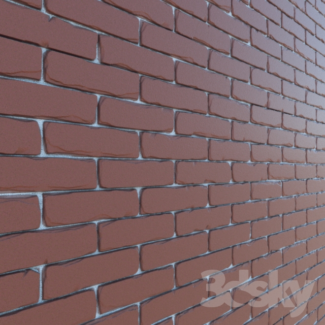 displace brick texture