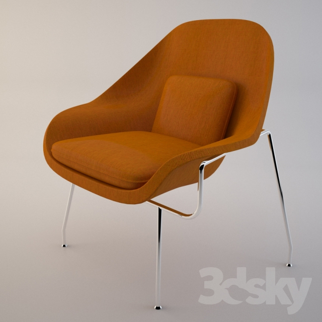 WOMB CHAIR, Knoll