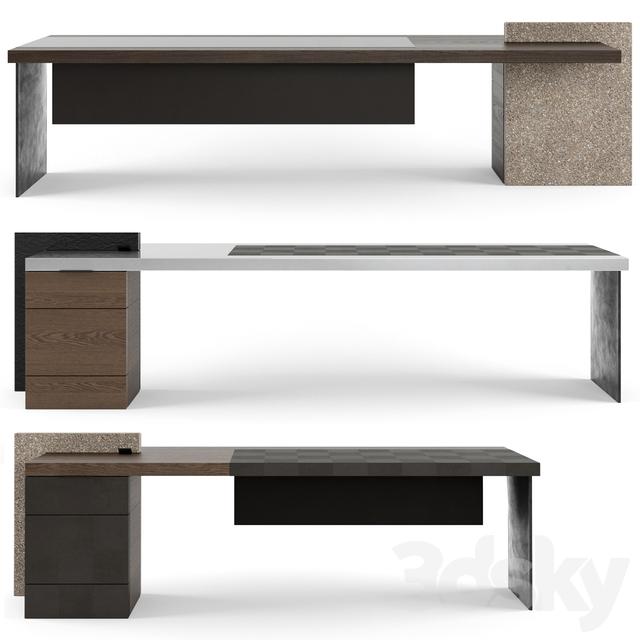 Perfect Download Office Furniture 005 Desks 102 3d Model Office Furniture