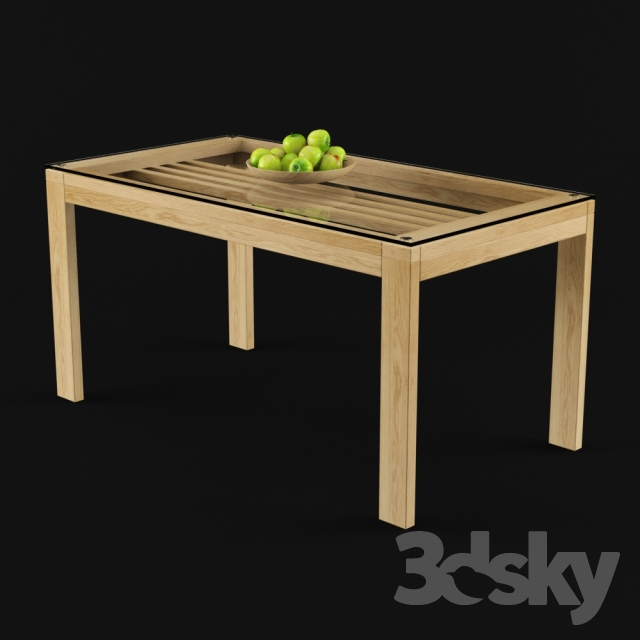 3d models table dining table for Dining room table 3ds max