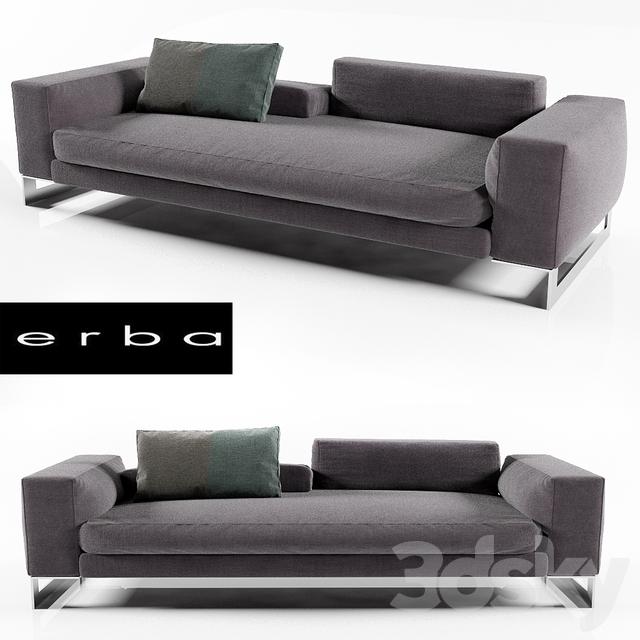 3d models sofa erba italia perfect day