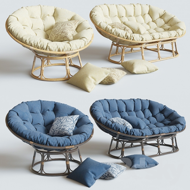 Charmant Armchair Papasan | Sofa Mamasan