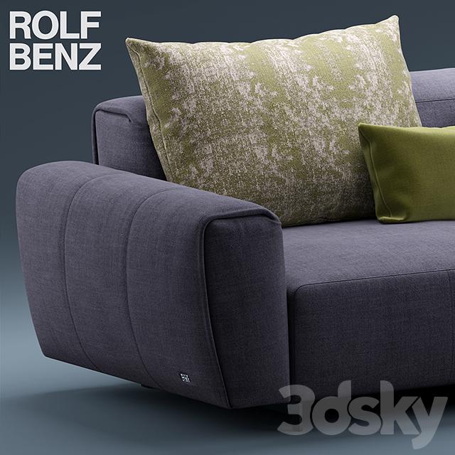 3d models sofa sofa rolf benz teno. Black Bedroom Furniture Sets. Home Design Ideas