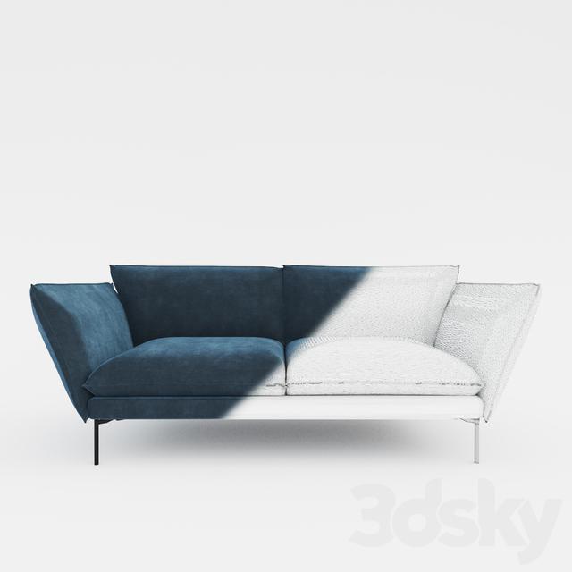 3d Models Sofa Sits Hugo