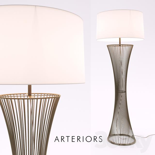 3d models floor lamp arteriors camille floor lamp arteriors camille floor lamp aloadofball Image collections