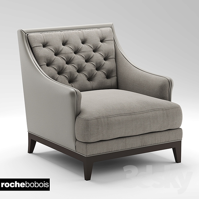 3d models arm chair armchair armchair fauteuil epoq roche bobois. Black Bedroom Furniture Sets. Home Design Ideas
