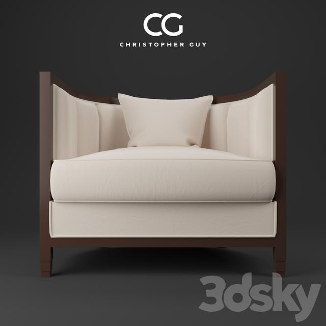 3d Models Arm Chair Armchair Christopher Guy Seurat