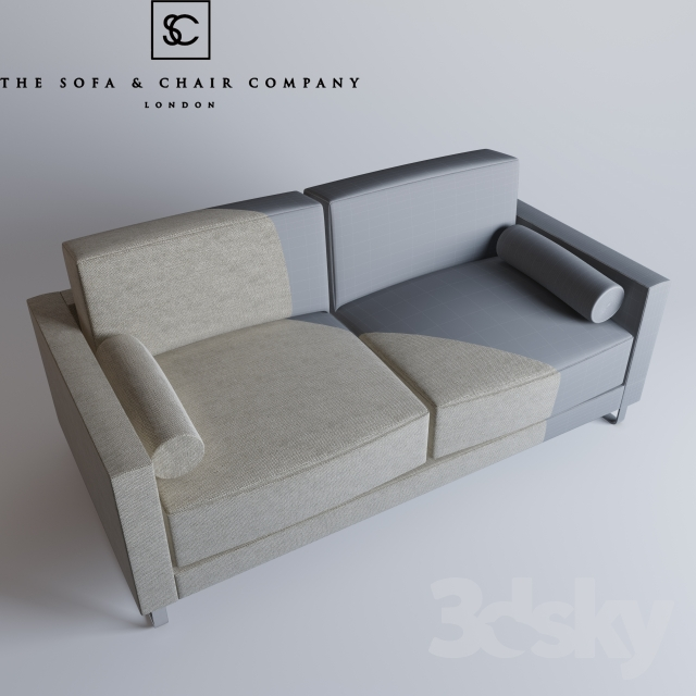 3d models sofa the sofa and chair company da vinci for Sofa company