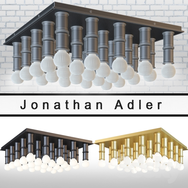 3d models ceiling light meurice ceiling light designed. Black Bedroom Furniture Sets. Home Design Ideas
