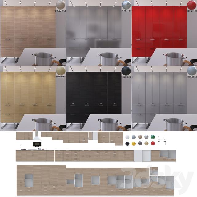 Ikea Kitchen Questions: 3d Models: Kitchen