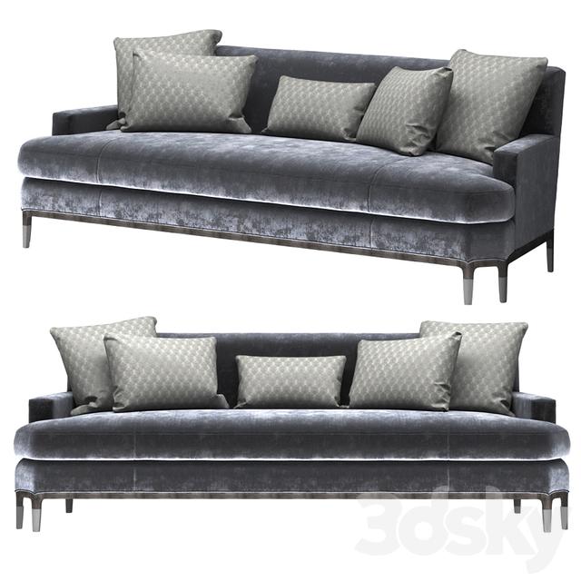 3d models sofa baker celestite sofa no 6179s jean for Baker furniture sectional sofa