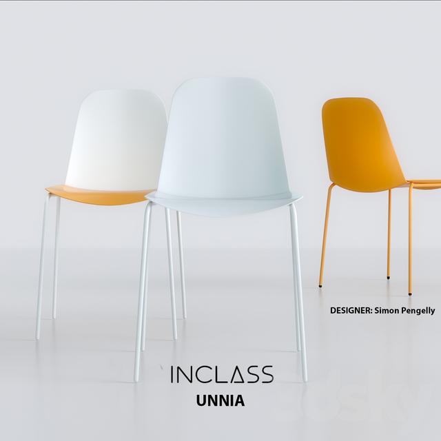 3d models chair inclass unnia for Silla unnia inclass