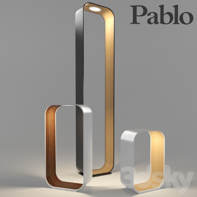 3d models: Floor lamp - Pablo Contour Lamps