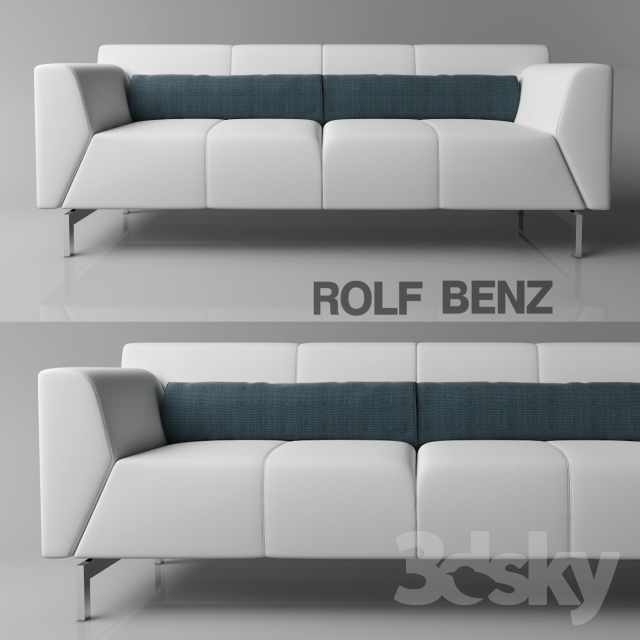3d models sofa sofa rolf benz linea. Black Bedroom Furniture Sets. Home Design Ideas