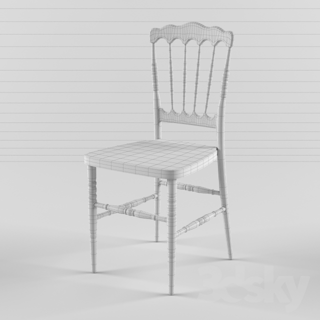 3d Models: Chair   Napoleon Chair   Crystal