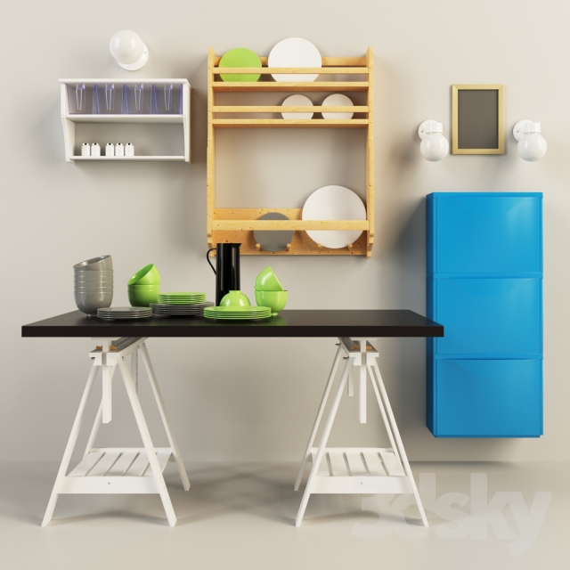 3d Models Other Ikea Set