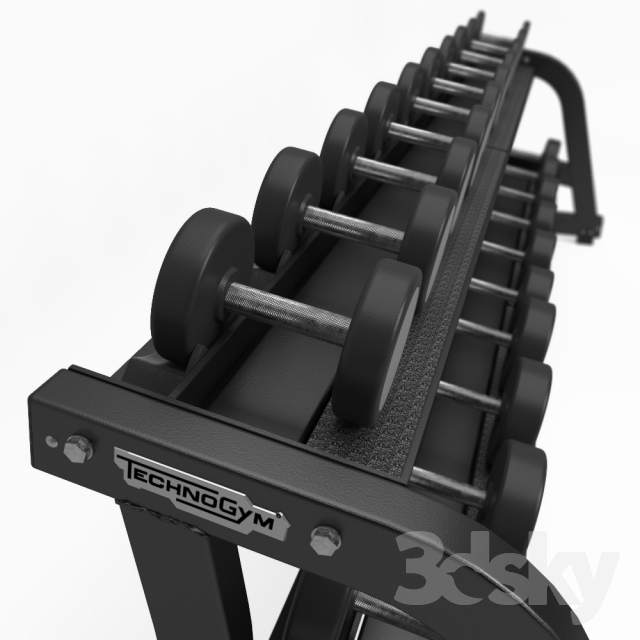 Free Weights Bench: TECHNOGYM. PURE STRENGTH