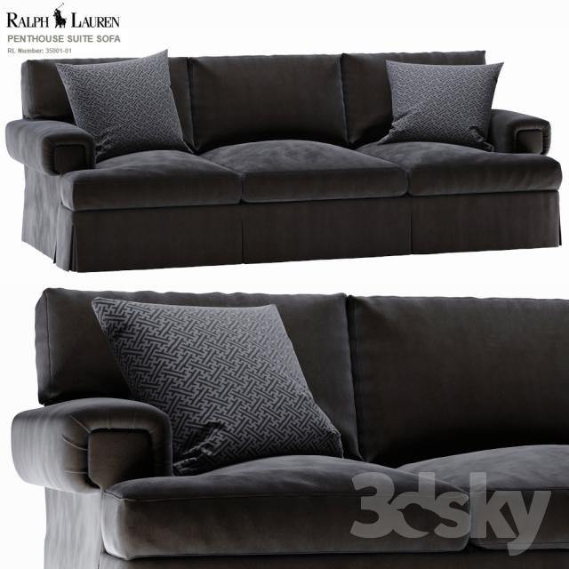 Ralph Lauren PENTHOUSE SUITE SOFA 35001 01
