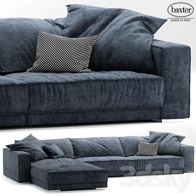 3d models sofa sofa baxter budapest soft