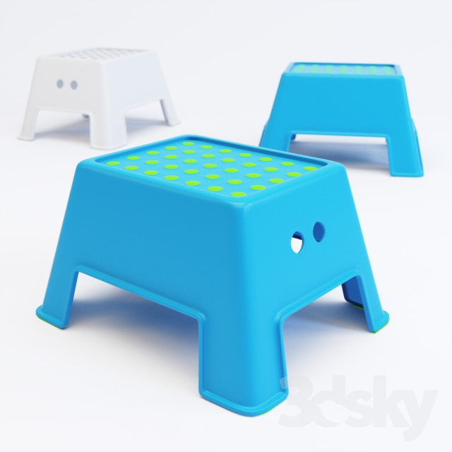 3d Models Other Ikea Bolmen Step Stool