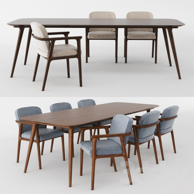 3d models Table Chair Zio Dining Table and Dining Chair : 5706805765de05b312f from 3dsky.org size 640 x 640 jpeg 189kB