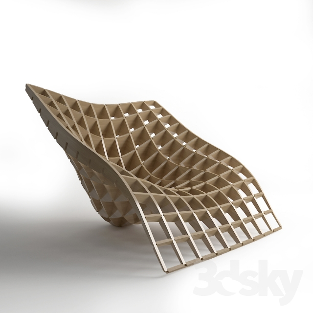 3d Models Arm Chair Parametric Lounge