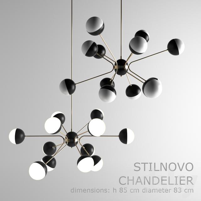 3d models ceiling light stilnovo chandelier sputnik stilnovo chandelier sputnik aloadofball Gallery