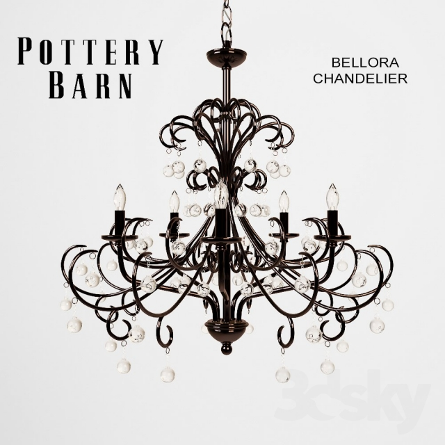 Pottery Barn Chandelier Wiring Instructions: Pottery Barn Bellora Chandelier